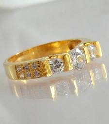 Buy GOLD PLATED RING engagement-ring online