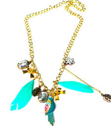 Buy Parrot feather necklace  Necklace online