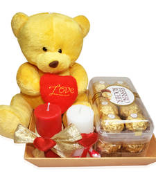 Buy Diwali Chocolates Adorable Teddy Love Combo chocolate online