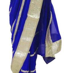 Ink Blue saree shop online