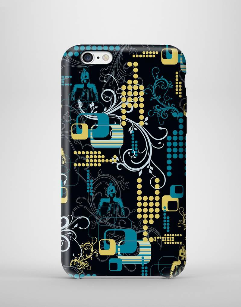 Buy stripper blue 3d printed mobile case for iphone6 online for Case 3d online