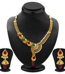 Buy Fine Gold Plated Necklace Set for Women black-friday-deal-sale online
