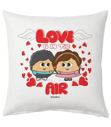 Buy Designer Romantic Cute Couple Printed Soft Cushion other-home-furnishing online
