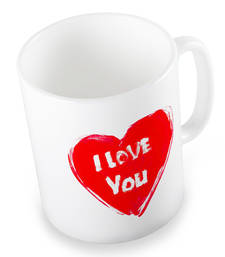 Buy Exquisite Cute I Love You Heart Printed Coffee Mug other-home-accessory online