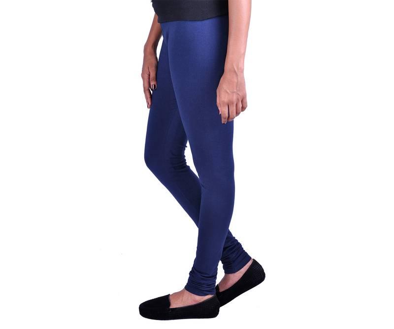 Navy Blue Spandex Leggings 3