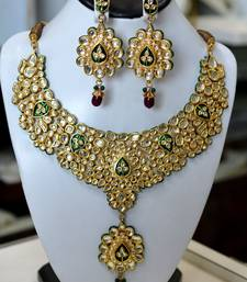Bridal Kundan Necklace Set shop online