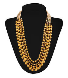 Buy Masterclass Gold plated contemporary Necklace Necklace online