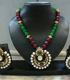 Buy Design no. 38.160....Rs. 2600 necklace-set online