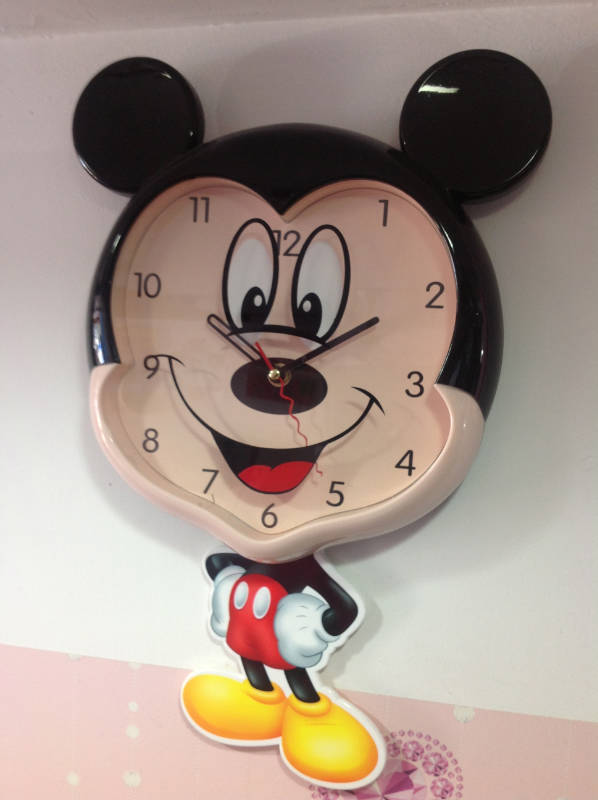 Buy Designer Mickey Mouse Wall Clock Online