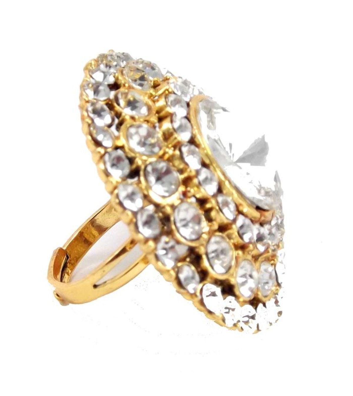 buy gold bridal kundan gold plated adjustable