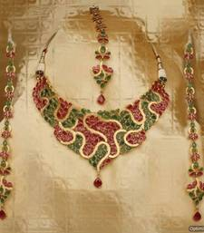 Buy Design no. 8B.1817....Rs. 8900 necklace-set online