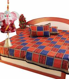 Buy Rajasthani Double Bedsheet Set Mother Day Gift gifts-for-mom online