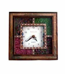 Buy Real Gemstone Wall Clock Mothers Day Gift wall-clock online