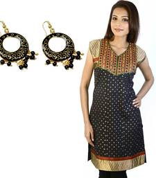 Buy Embroidered Fancy Cotton Kurti Mother Day Gift gifts-for-mom online