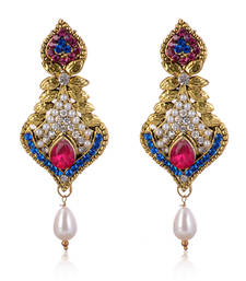 Buy Charming American Diamond Studded Earrings danglers-drop online