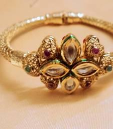 Buy KUNDAN BRACELET bangles-and-bracelet online