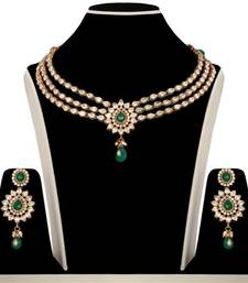 Buy Design no. 10b.2232....Rs. 3950 necklace-set online