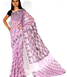 Buy Cotton Supernet Meena Patola supernet-saree online