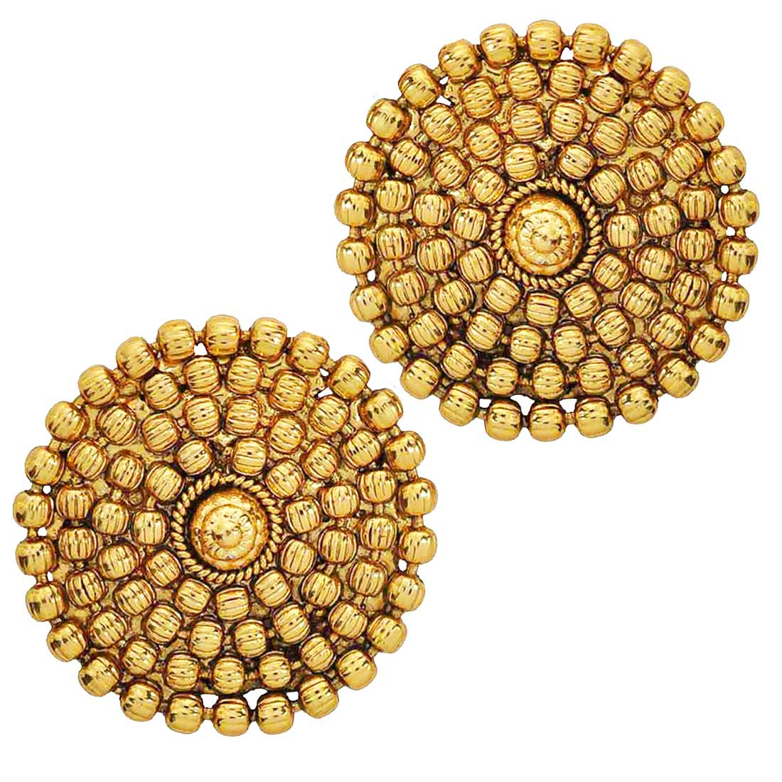 Buy Fabulous Gold Indian Ethnic Stud Earrings Online