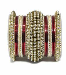 Buy Maroon zircon bangles-and-bracelets bangles-and-bracelet online