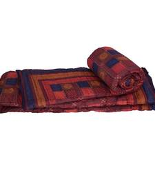 Buy Jaipuri Style Bagru Cotton Single Bed Quilts jaipuri-razai online
