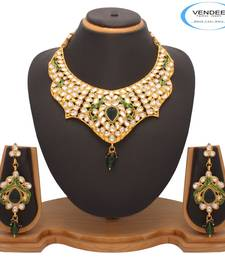 Buy Vendee Fashion Awesome Kundan Necklace Jewelry (7200) necklace-set online