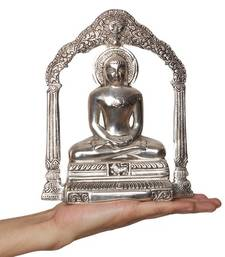 Buy Metal Lord Mahavir Wall Hanging congratulation-gift online
