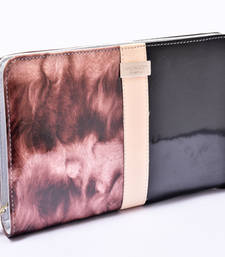 Buy half black and brown hand clutch clutch online