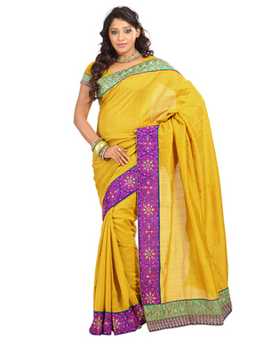 Yellow Silk Blouse Ladies 27