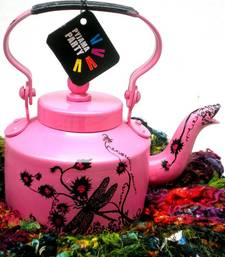 Buy Pink blossom dragonfly tea-kettle online