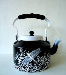 Buy Black and white dragonfly tea-kettle online