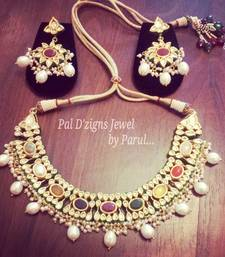Buy Rajokri Navrattan Set necklace-set online