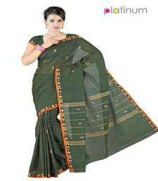 Buy Platinum Latest Ethnic Pure Cotton Bridal Formal Wear Saree Sari PS060 cotton-saree online