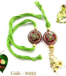 Buy Beautiful Bhaiya Bhabhi Rakhi rakhi-gift-hamper online