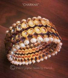 Buy Charkha - Bangle  bangles-and-bracelet online