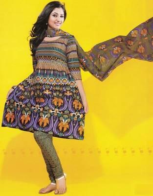 Dress material cotton designer prints unstitched salwar kameez suit d.no 1731