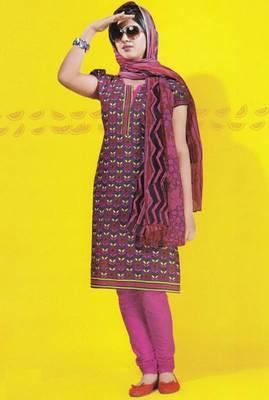 Dress material cotton designer prints unstitched salwar kameez suit d.no 1738