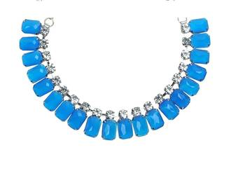 Ocean Of Blue Neckpiece