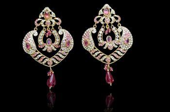 Buy exclusive Traditio0l Handmade Green  Earrings