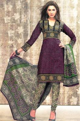 Dress material cotton designer prints unstitched salwar kameez suit d.no SG9117