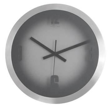 3020-RASTER(BLACK HANDS) Simple Balck clock for Home