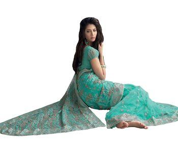 Designer Indian Sari SimSim 7011 B
