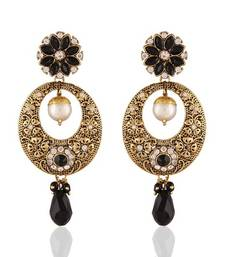 Buy Dazzling Gold Plated Jewellery Earrings For Women danglers-drop online