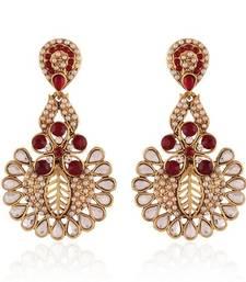 Buy Elegent  Gold Plated Jewellery Earrings For Women danglers-drop online