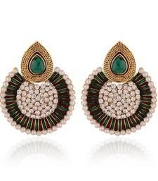Buy Moddish Gold Plated Jewellery Earrings For Women danglers-drop online