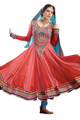Party Wear Dress Material Fanz1001