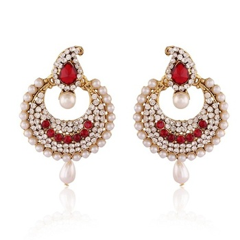 Sparkling Gold Plated Jewellery Earrings For Women