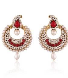 Buy Sparkling Gold Plated Jewellery Earrings For Women danglers-drop online