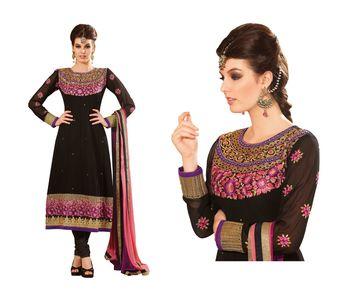Party Wear Dress Material cartier8003