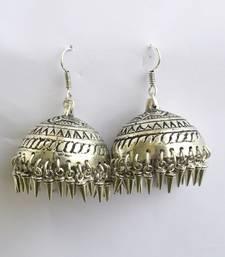 Buy Silver jhumka jhumka online